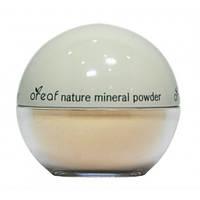 Пудра минеральная рассыпчатая Oreaf №02 Бежевый жемчуг, BEBECO