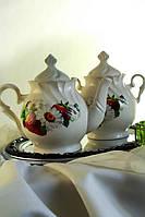 Чайный набор Ромашка и клубничка
