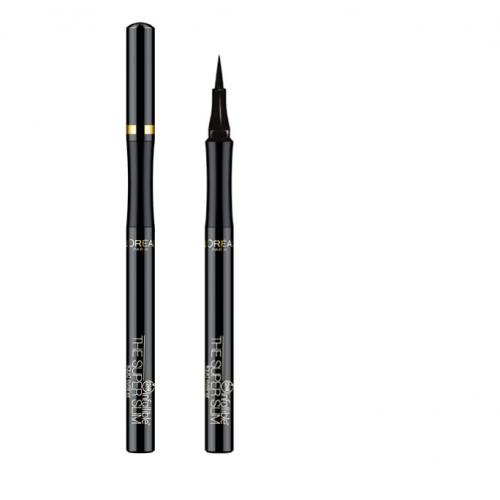Подводка для глаз ультратонкая устойчивая Super Liner Perfect Slim Intense Black, L'Oreal Paris