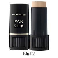 Крем-карандаш тональный №12 натуральный беж Max Factor Panstik