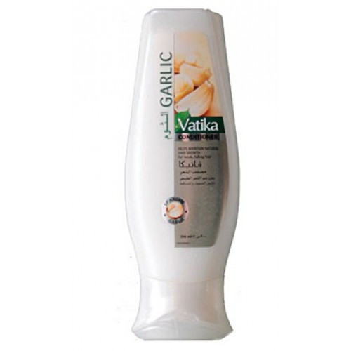 Кондиционер для ломких и выпадающих волос с экстрактом чеснока Vatika Dabur, 200 мл