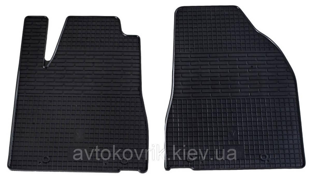 Резиновые передние коврики в салон Lexus RX 2009-2015 (STINGRAY)