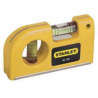 Уровень Stanley Pocket Level карманный, 2 капсули 0-42-130
