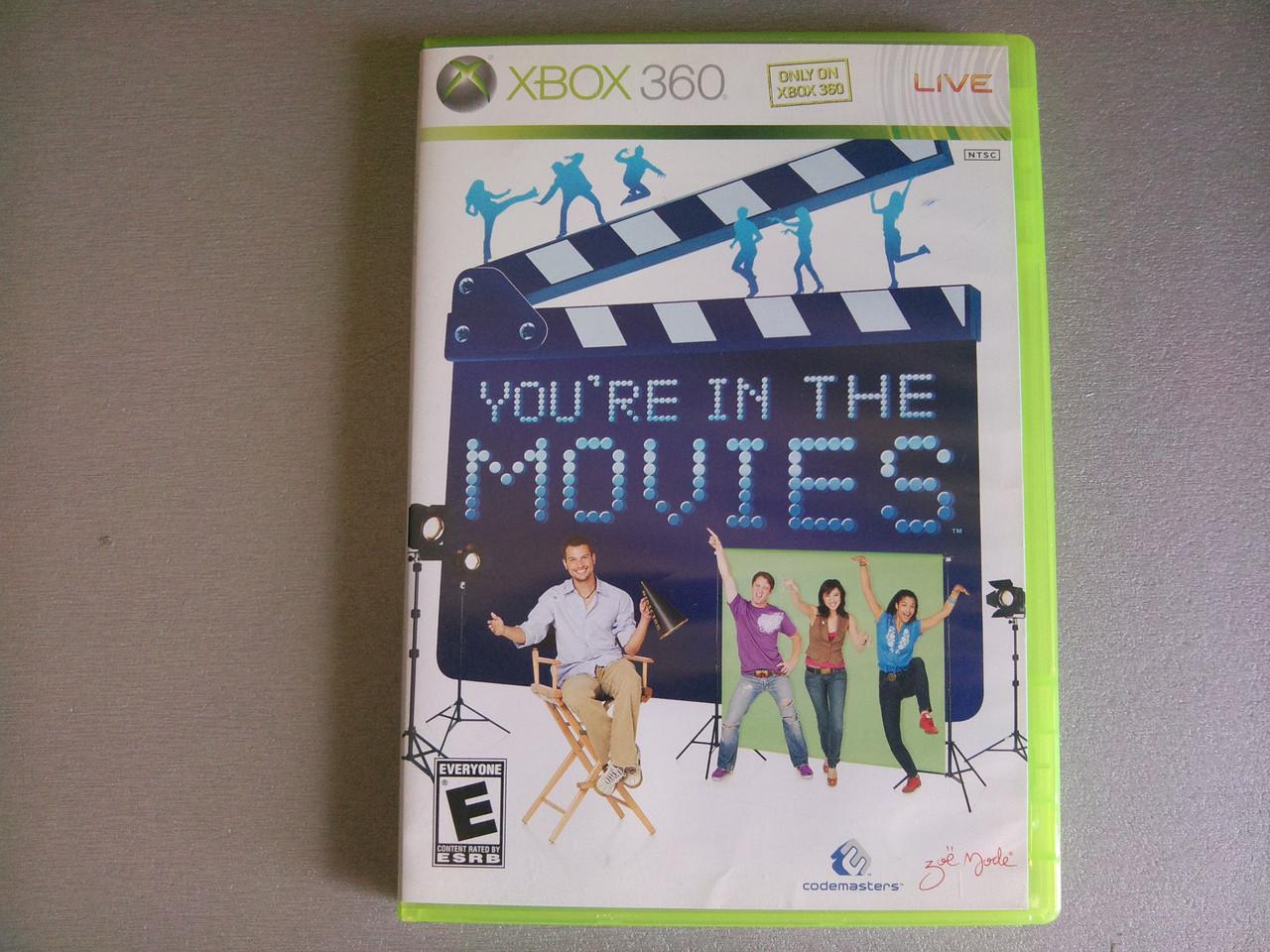 Игра xbox 360 You're In The Movies регион NTSC