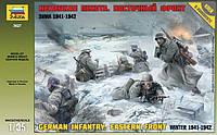 Сборная модель Zvezda (1:35) Немецкая пехота. Восточный фронт. Зима 1941-1942 г.