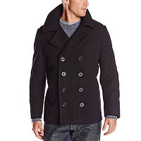 Пальто бушлат Alpha Industries USN Navy Pea Coat MJN45032C1 (Black)