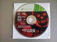 Игра xbox 360 Gears Of War 3 регион NTSC
