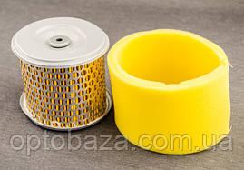 Воздушный фильтр ( Жёлтый) для мотоблока бензинового 9 л.с., фото 3