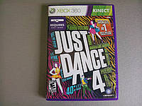 Игра xbox 360 Kinect Just Dance 4  регион NTSC