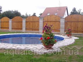 Сборно-щитовой морозоустойчивый бассейн AZURO диам.6,4м, высотой 1,2м Mountfield (Чехия) без оборудования, фото 3