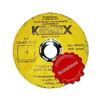 Абразивная высоко оборотистая шарошка Krzemex Ф70*60*М14 №60 бочка для шлифовки камня и мрамора.