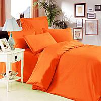 Евро комплект постельного белья Orange
