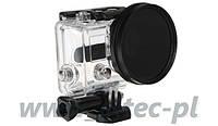 Адаптер фильтровой для GoPro HERO 3 + фильтр CPL 58мм (GP150+CPL) Massa/Selco
