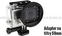 Адаптер фильтровой на 58 мм для GoPro HERO 3, 4 (GP150) Massa