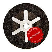 Абразивная низко оборотистая шарошка Krzemex Ф100*50*М14 №60 бочка для шлифовки гранита и мрамора.