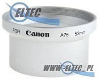 Бленда для CANON A60 A70 A75 A85 52мм (серебряная) Selco