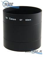 Бленда для CANON G7, G9 52 (черная) Selco