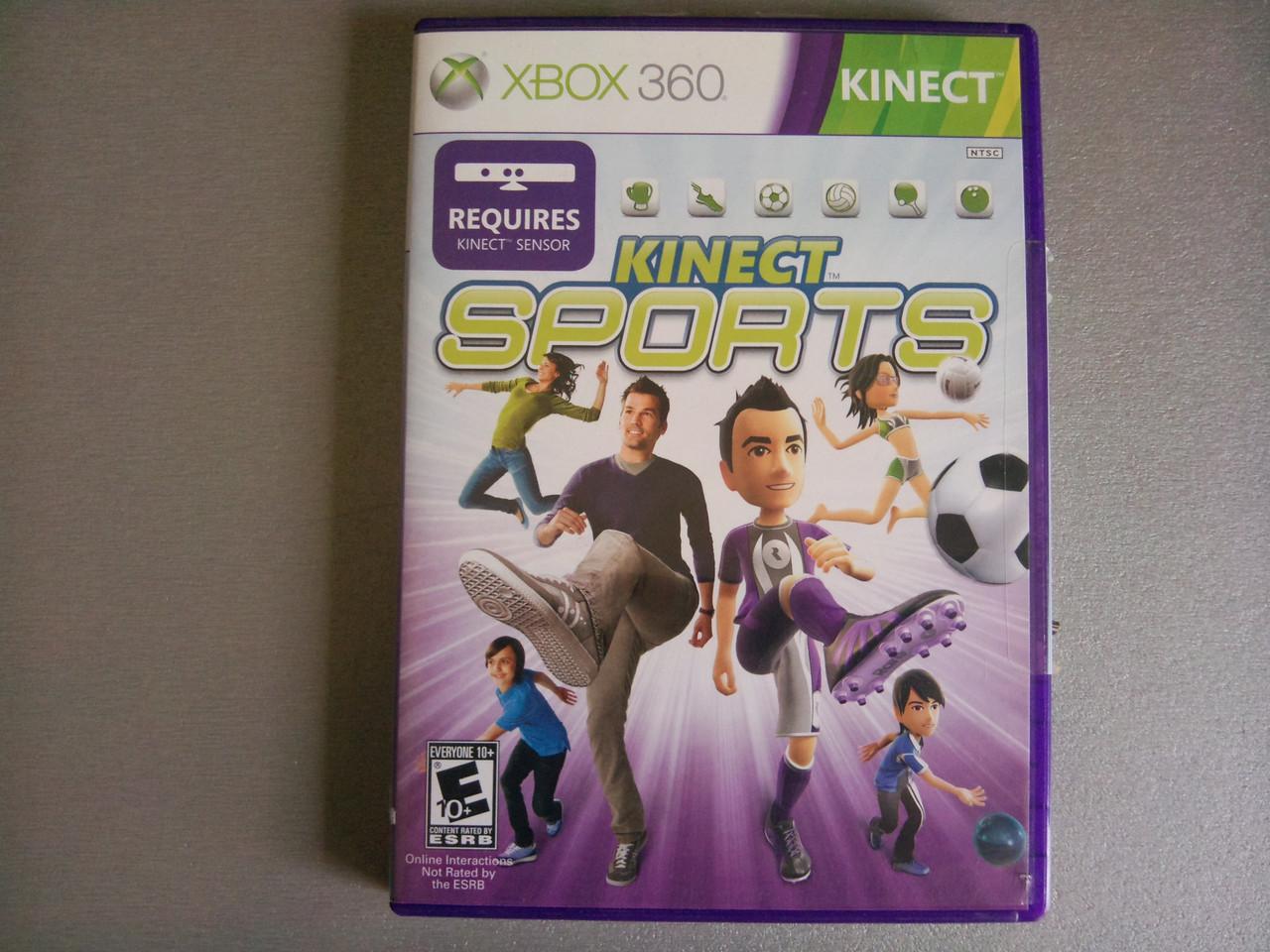 Игра xbox 360 Kinect Sports регион NTSC
