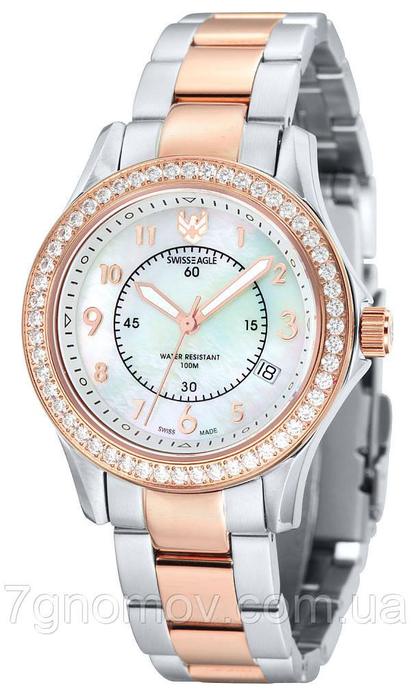 Часы наручние SwissEagle. Field SE-6027-55