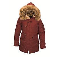 Женская зимняя куртка аляска Altitude W Parka Alpha Industries  (красная охра), фото 1