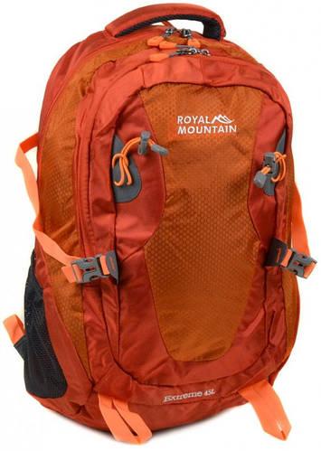 Отличный туристический рюкзак 45 л. Royal Mountain 8463 orange оранжевый
