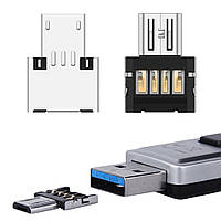 OTG переходник micro USB - USB