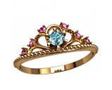 Кольцо  женское серебряное Корона 20867, фото 2