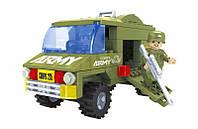 Конструктор аналог LEGO Армейский грузовик 113 деталей