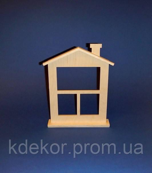 Будиночок №3 заготовка для декупажу та декору