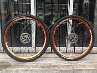 """Сборка колес 29"""" на ободах Fireeye для велосипеда TREK"""
