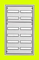 Распределительный навесной металлический шкаф ABB AT62 144M IP43 574х974х140 6 рядов