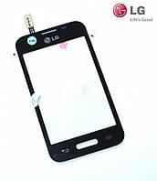 Touchscreen (сенсорный экран) для LG D170 Optimus L40, оригинал (черный)