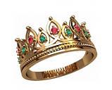 Кольцо  женское серебряное Корона 20872, фото 2