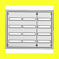 Распределительный навесной металлический шкаф ABB AT43 144M IP43 824х674х140 4 ряда