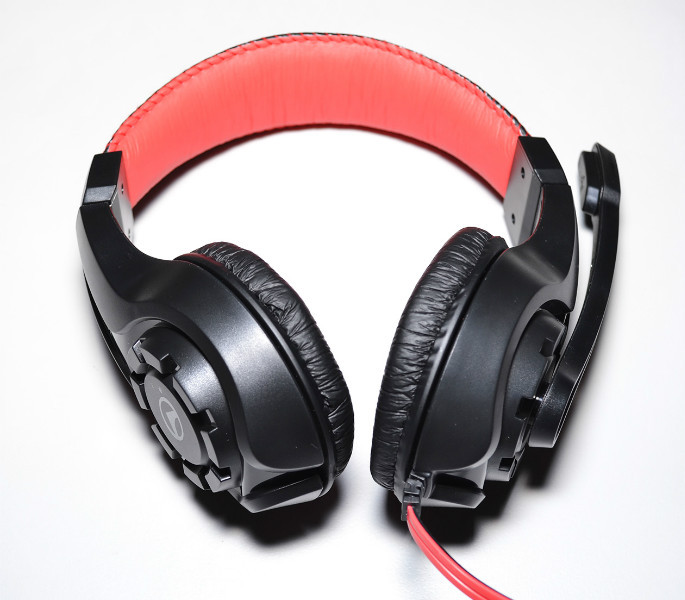 Игровые наушники Lupuss G1 c микрофоном