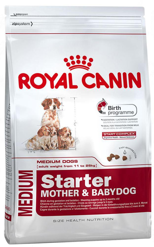 Корм для щенков средних пород Royal Canin Medium Starter