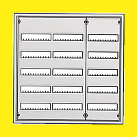 Распределительный навесной металлический шкаф ABB AT53 180M IP43 824х824х140 5 рядов