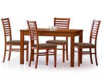 Стол обеденный деревянный ERNEST 120/160 дуб сонома Halmar