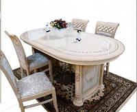 """Набор мебели в столовую """"Вивальди"""" стол и четыре стула."""