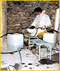 Гидроизоляция, ликвидация сырости стен, грибка, плесени