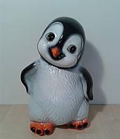 Копилка Керамическая Пингвиненок, 27см.
