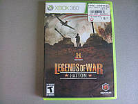 Игра xbox 360 History Legends of War Patton регион NTSC