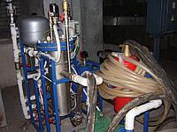 Очистка   отопления и водопроводов