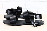 Модные мужские  сандалии из глянцевой кожи  Bertoni
