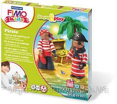 "Набор пластики ""Пират"" Fimo Kids 4 цвета *42 гр, 803413 LZ"