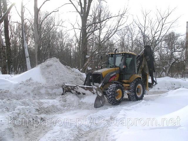 Розчищення снігу Київ