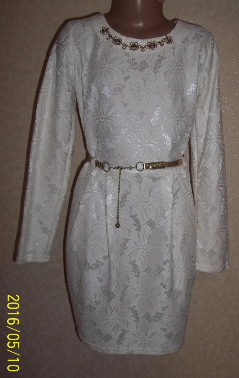 Платье для девочки Верджиния белое