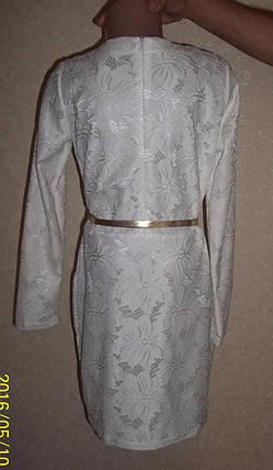 Платье для девочки Верджиния белое, фото 2