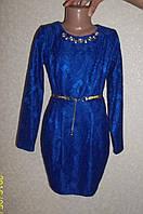 Платье для девочки Верджиния электрик