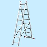 Универсальная лестница KRAUSE Corda 2x8 (3.08 м)
